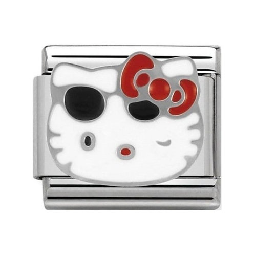 Nomination Hello Kitty Red Bow and Sunglasses Charm Link - 230290/06