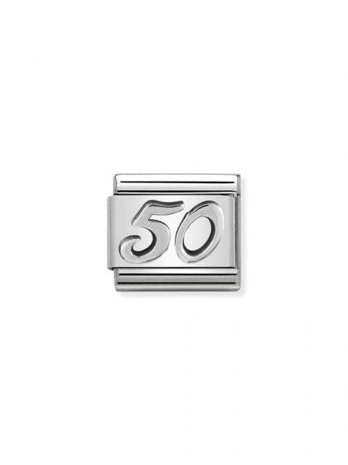 Nomination Silvershine 50 Charm Link - 330101/24