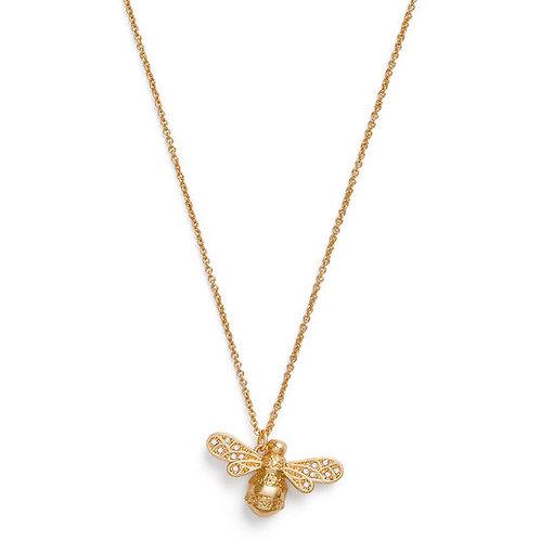 Olivia Burton Sparkle Bee Gold Necklace