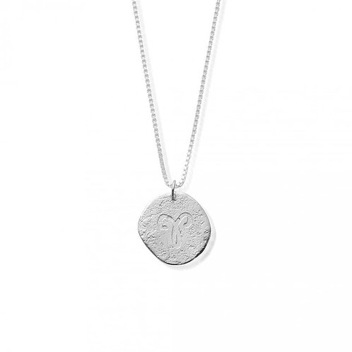 ChloBo Sterling Silver Aries Starsign Necklace
