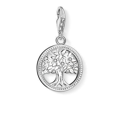 Thomas Sabo Silver Tree Charm - 1303-051-14
