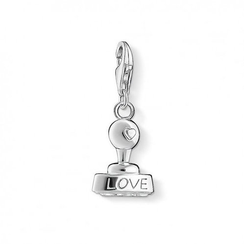 Thomas Sabo Silver Love Stamp Charm - 1312-001-12