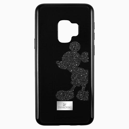 SWAROVSKI Black Disney Mickey Phone Case fits SAMSUNG GALAXY S9 - 5449138