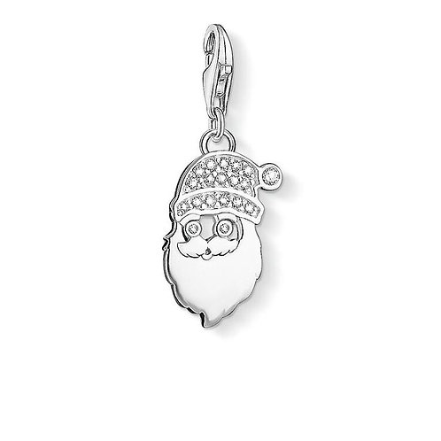 Thomas Sabo Silver Father Christmas  Santa Claus Charm - 1320-051-14