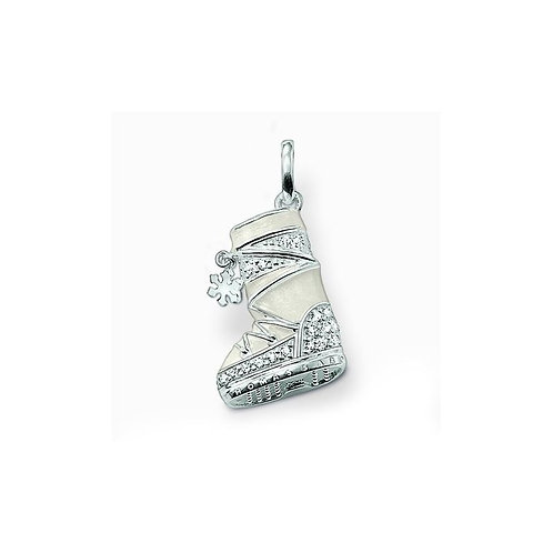 Thomas Sabo Sterling Silver UGG Snowboot Pendant Charm - PE515-041-14