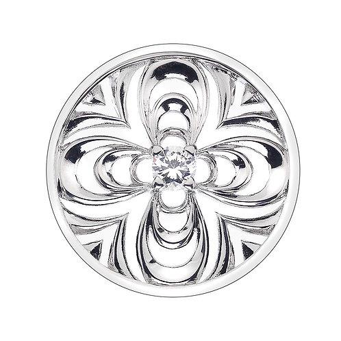 Emozioni by Hot Diamonds Consistenza Petal Clear CZ Coin - EC201