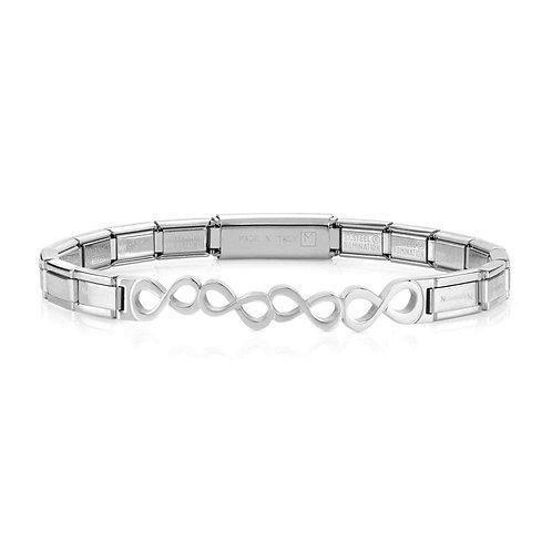 Nomination Trendsetter Infinity Symbols Stainless Steel Bracelet 021126/026