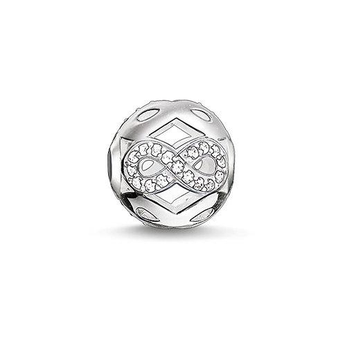 Thomas Sabo Karma Infinity Silver Bead Charm - K0172-051-14