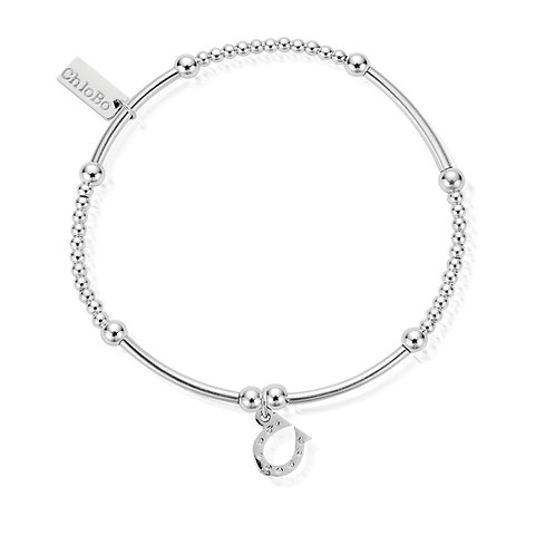 ChloBo Silver Cute Mini Horseshoe Bracelet - SBCM423