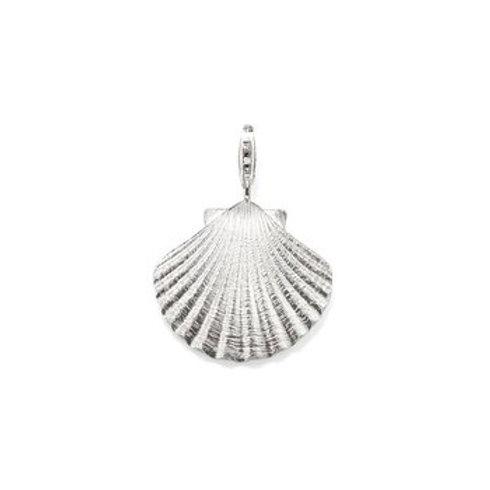 Thomas Sabo Silver Seashell Pendant Charm - T0197-001-12