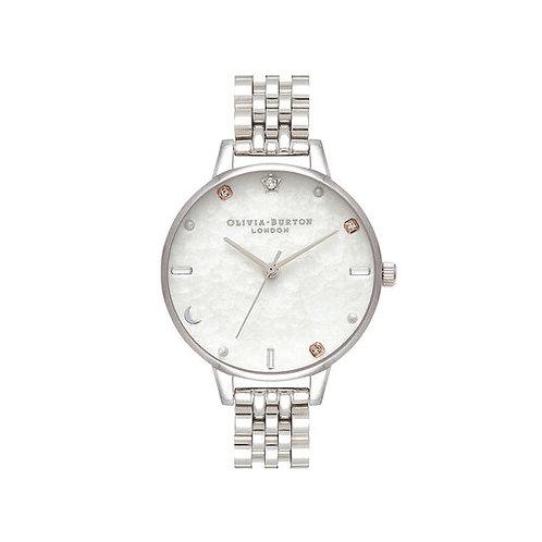 Olivia Burton Celestial Silver Bracelet Watch - OB16GD30