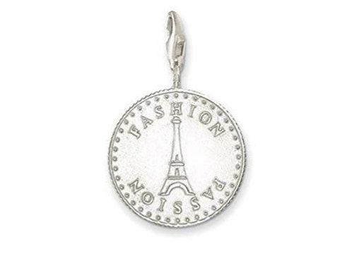 Thomas Sabo Silver Fashion Passion Charm - 0329-001-12