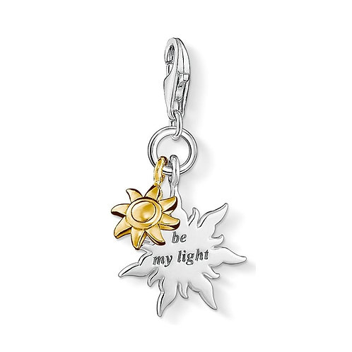 Thomas Sabo Silver Be My Light Charm - 1347-413-12