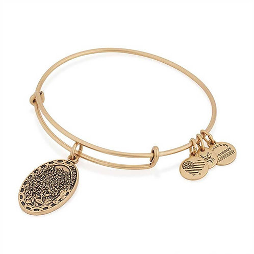 "Alex and Ani ""Because I love You Daughter"" Bangle - A16EB11RG"