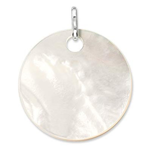 Thomas Sabo Large Mother of Pearl Disc