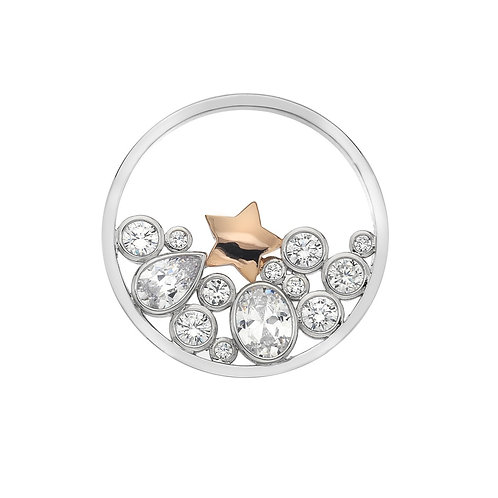 Emozioni by Hot Diamonds Spirito Libero Star CZ Coin