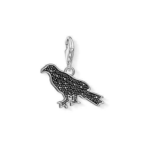 Thomas Sabo Silver Raven Charm - 1125-643-11