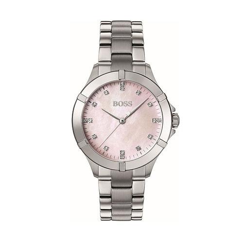 Hugo Boss Mini Sport Ladies Mother Of Pearl Watch - 1502469