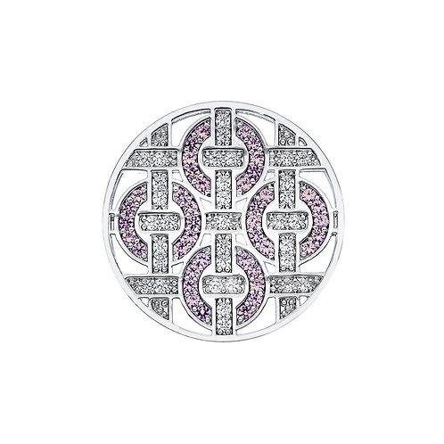 Emozioni by Hot Diamonds Telaio Pink CZ Coin - EC201