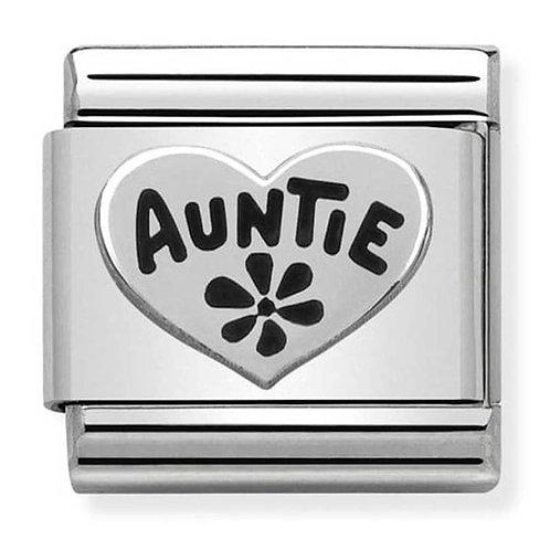 Nomination Silvershine Auntie Charm Link - 330101/17