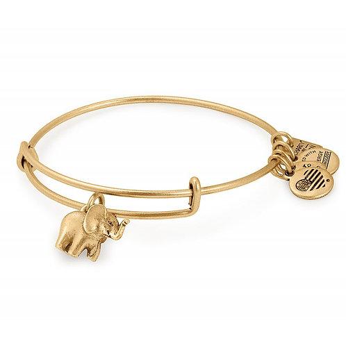 Alex and Ani Rafaelian Gold 'Lucky Elephant' Charm Bangle - A17INTELPRG