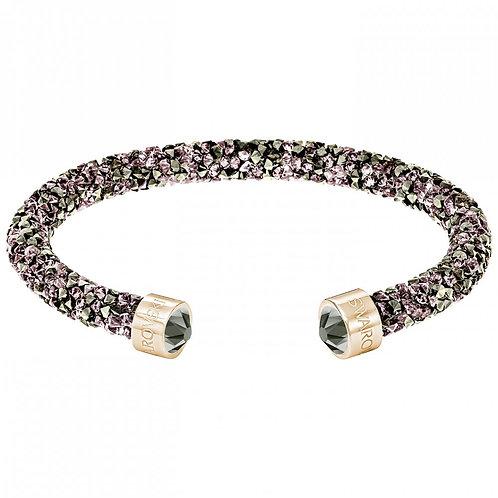 SWAROVSKI Single Crystaldust Bracelet in ROSE GOLD Tones - 5372882 Medium
