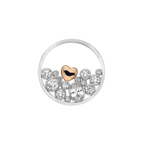 Emozioni by Hot Diamonds Spirito Libero Love Heart CZ Coin