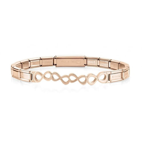 Nomination Trendsetter Infinity Symbol Rose Gold Bracelet 021111/010