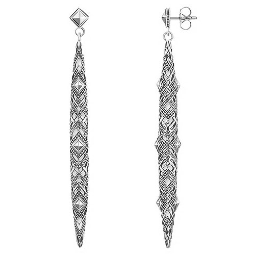 Thomas Sabo Silver 'Africa' Ornament Earrings - H1931-637-21