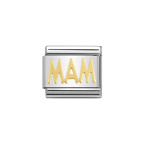 Nomination Gold Classic MAM Charm Link - 030107/22