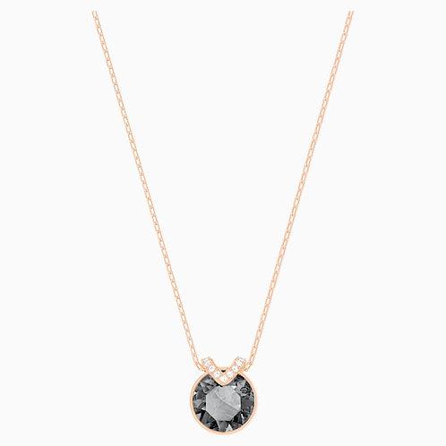 SWAROVSKI Rose Gold Tone Bella V Necklace  - 5349962