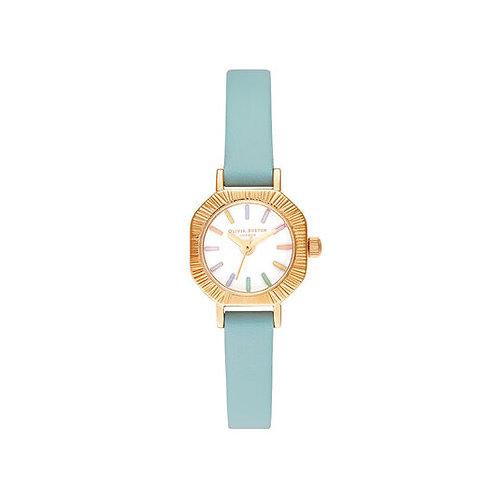 Olivia Burton Rainbow Turquoise and Gold Watch - OB16CC53