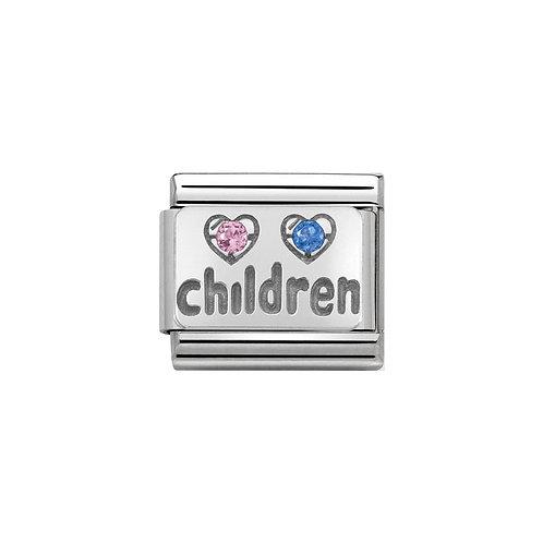 Nomination Silvershine Children Charm Link - 330304/15