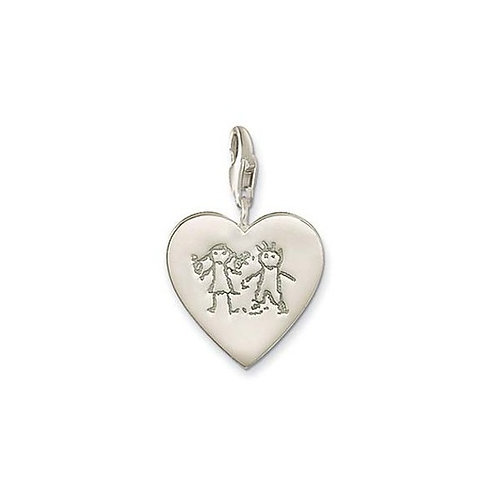 Thomas Sabo Silver Children Charm - 0129-001-12