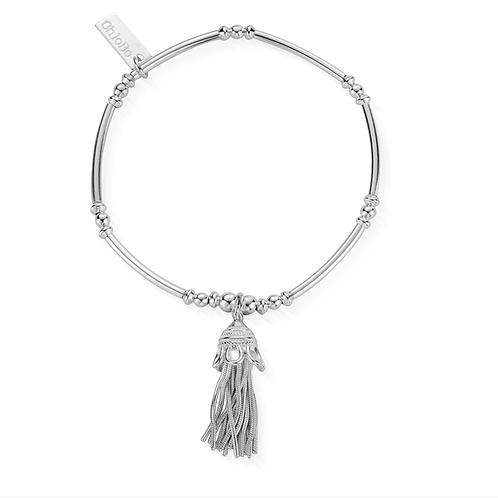 ChloBo Silver Didi Tassel Bracelet - RBMN338