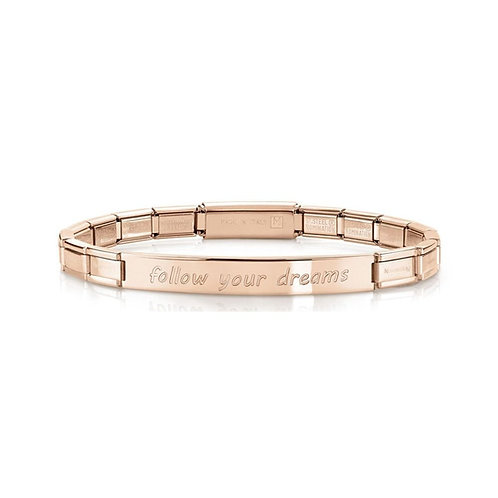 Nomination Trendsetter Follow Your Dreams Rose Gold Bracelet 021110/006
