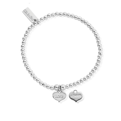 ChloBo Silver Cute Charm Love Always  Bracelet - SBCC204