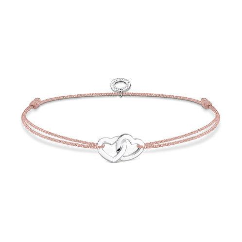 Thomas Sabo Little Secrets Double Love Hearts Bracelet - LS121-173-19