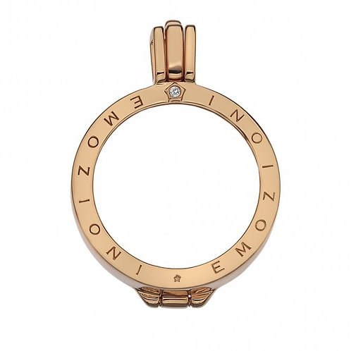 EMOZIONI Rose Gold Plated Keeper 33mm EK004