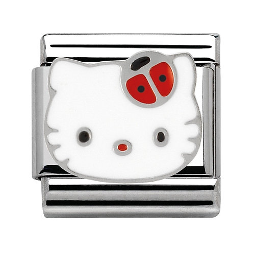 Nomination Hello Kitty Red Ladybird Charm Link - 230290/02