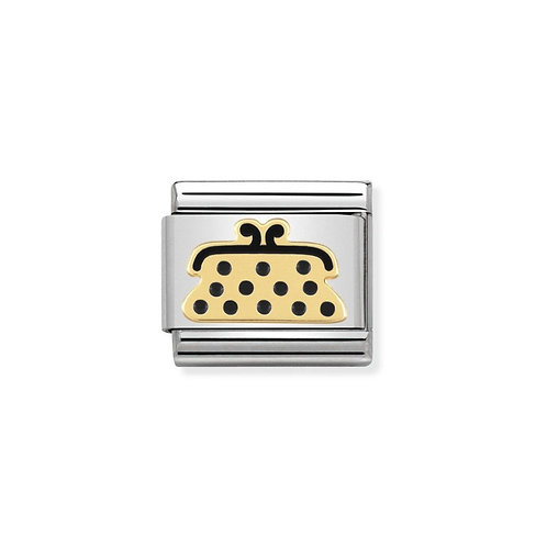Nomination Gold Madame Purse Charm Link - 030285/23