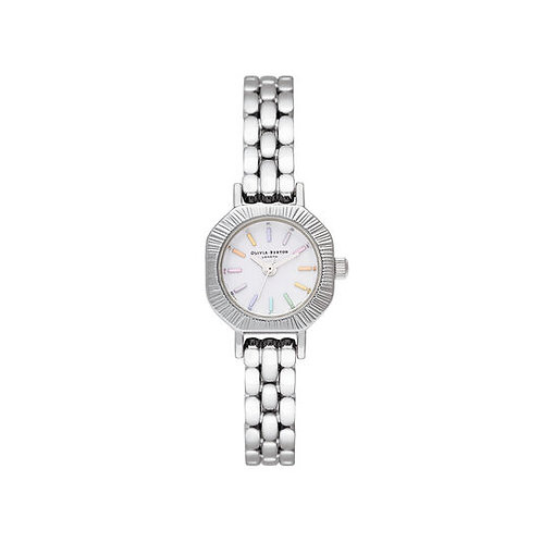 Olivia Burton Rainbow Mini Dial Silver Watch - OB16CC52