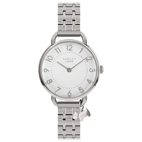 RADLEY Ladies Southwark Park Open Shoulder Stainless Steel Strap Watch - RY4343