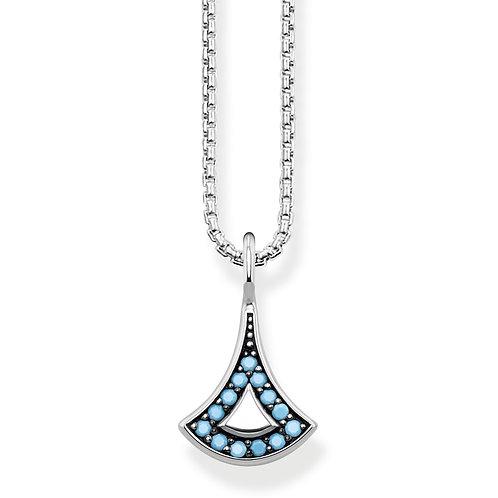 Thomas Sabo Sterling Silver Asian Ornaments Necklace - KE1739-667-L42V