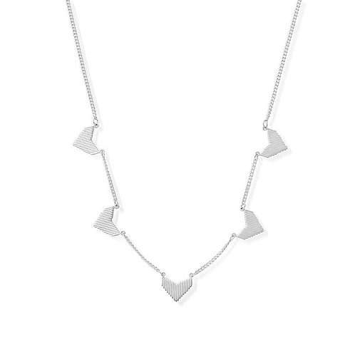 ChloBo Sterling Silver Multi Arrow Head Necklace