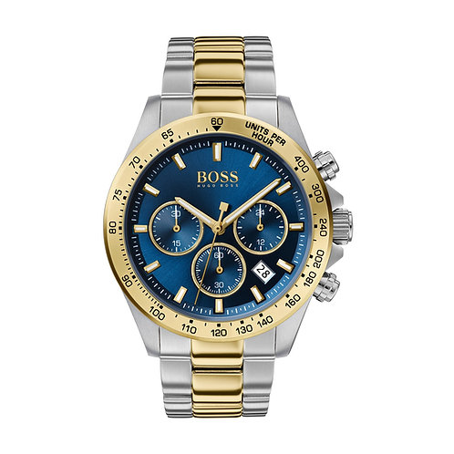 Boss Men's Hero Sports Lux Chronograph Stainless Steel Band Watch - 1513767