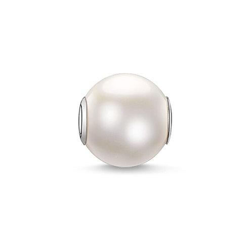 Thomas Sabo Karma BIG White Pearl Bead Charm -K0083-082-14