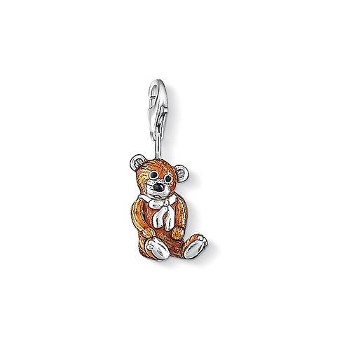 Thomas Sabo Silver Teddy Bear Charm - 0851-007-2