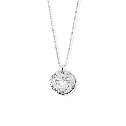 ChloBo Sterling Silver Libra Starsign Necklace