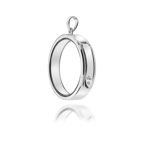 Anais by Hot Diamonds Sterling Silver Circle Locket - AL007